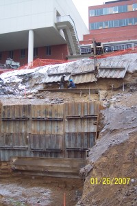 Here is a 26' excavation in Washington.