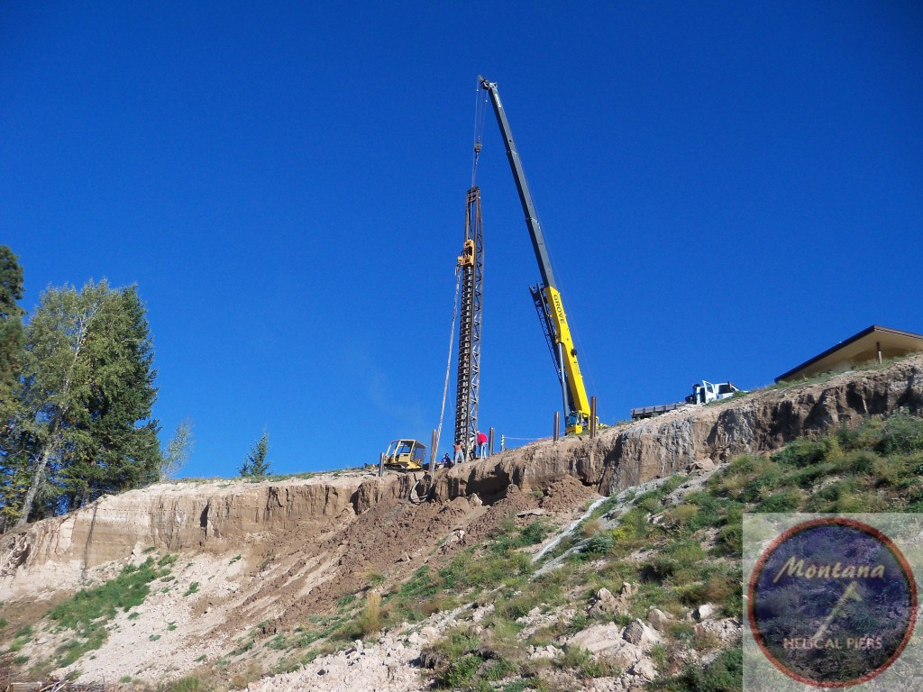 Montana prairie county mildred - Montana_helical_piers_slope_stabilization_landslide_repair_tieback_hpiles_earth_retaining