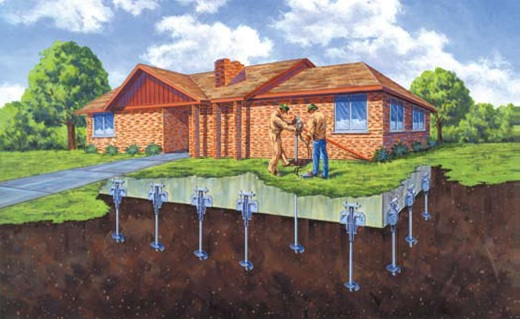 Home Foundation Repair Montana Helical Piers